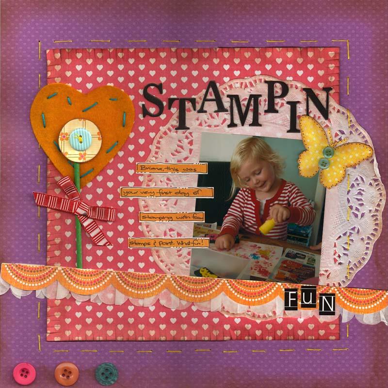Stampin fun